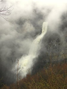cascade de Charabotte crue 1